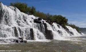 Photograph of the Mocona waterfall
