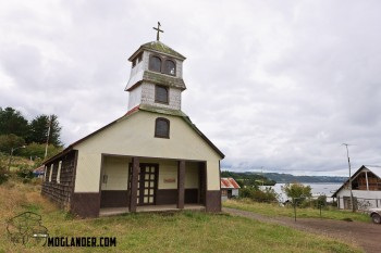 Wooden church in Chiloe