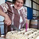 Gladys's birthday cake.