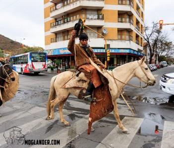 Gaucho in Traffic