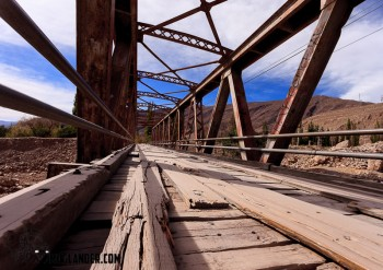 Old bridge Tilcara Argentina