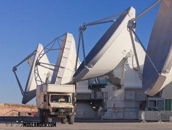 high precision antennas ALMA Atacama stargazing