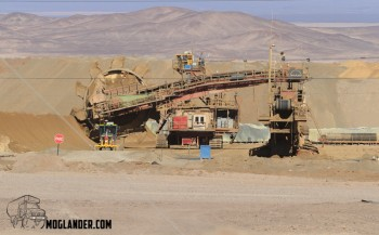 Their newer mine will be all conveyor belt, making it cheaper than running the big trucks
