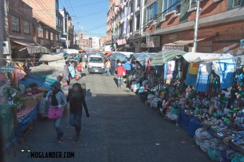 Every street like a market