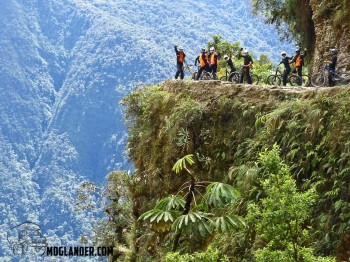WOW – A day on the Death Road Bolivia