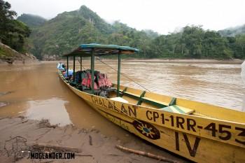 bolivia river boat