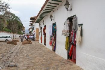 Villa de Leyva streets