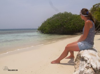 Chillin on a Morrocoy beach