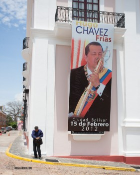 Everywhere we went, Chavez was there. Everywhere.