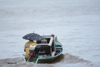 Raining - no problem.