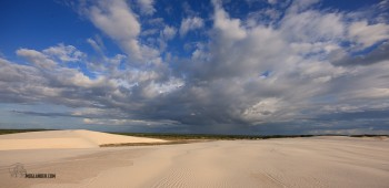 Storm coming to the Dunes