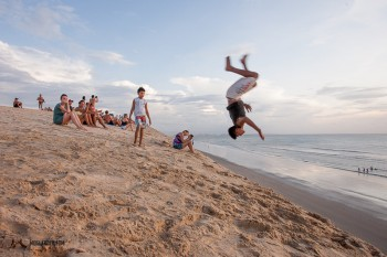 Jumping wild