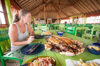Grilled red Snapper. Best we ever had - big enough for 4.